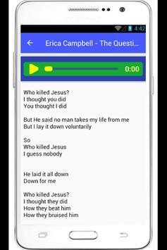 Erica Campbell Help Lyrics apk screenshot