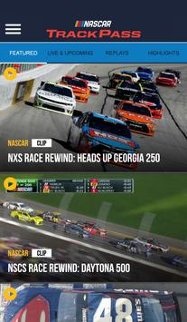 NASCAR TrackPass poster