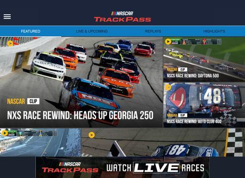 NASCAR TrackPass apk screenshot