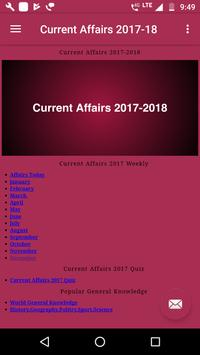 Current Affairs 2017 & 2018 screenshot 2