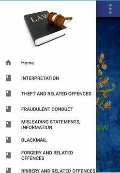 THEFT AND RELATED OFFENCES AND PUNISHMENTS poster
