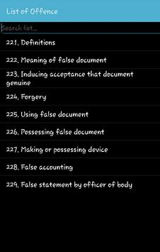 THEFT AND RELATED OFFENCES AND PUNISHMENTS screenshot 1