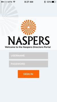 Naspers Governance Portal poster