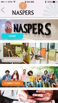 Naspers Governance Portal screenshot 1