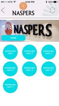 Naspers Governance Portal screenshot 2