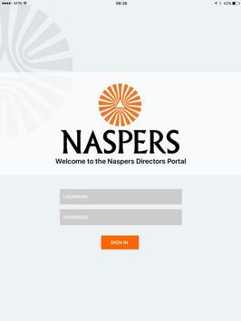 Naspers Governance Portal screenshot 4