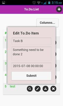 To Do List screenshot 5