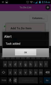 To Do List screenshot 2