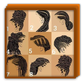 Braid Hairstyle African Girls icon