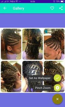 Braid Hairstyle African Girls screenshot 7