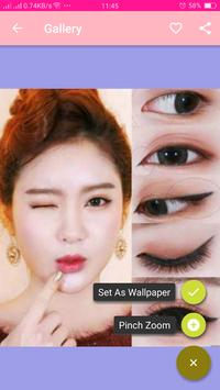 Korean Makeup Beauty screenshot 4