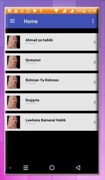 BEST OF THE BEST Sholawat Offline Nisa sabyan screenshot 4