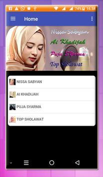BEST OF THE BEST Sholawat Offline Nisa sabyan screenshot 1
