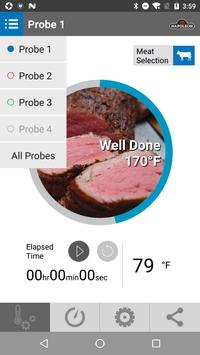 Napoleon ACCU-PROBE™ Bluetooth® Thermometer poster