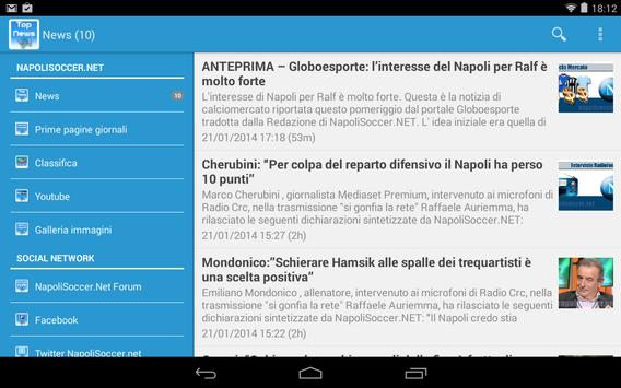 NapoliSoccer.Net screenshot 1