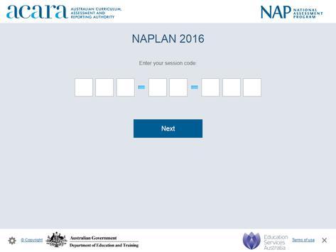 NAP Locked down browser screenshot 3