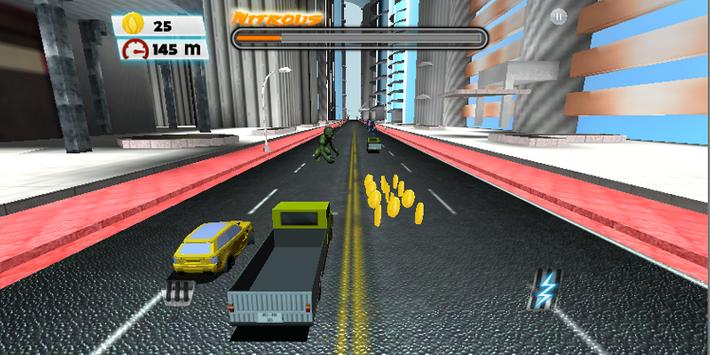 Speed Car City Racing 3D screenshot 8