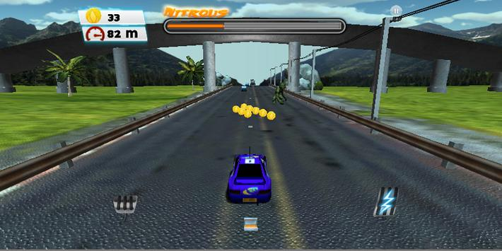 Speed Car City Racing 3D screenshot 2
