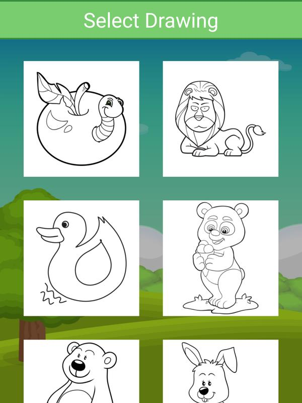 Dibujos para colorear para niños: Animal for Android - APK Download