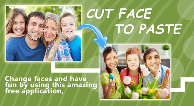 Cut Paste Photo Changer poster