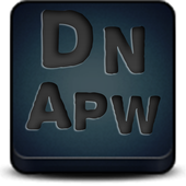 Apw Theme Dark naps blue V2 icon