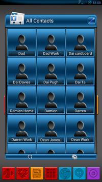 Apw Theme Dark naps blue V2 screenshot 4