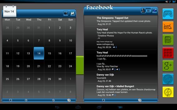 Apw Theme Dark naps blue V2 screenshot 6