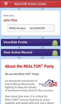 NAR Action Center poster