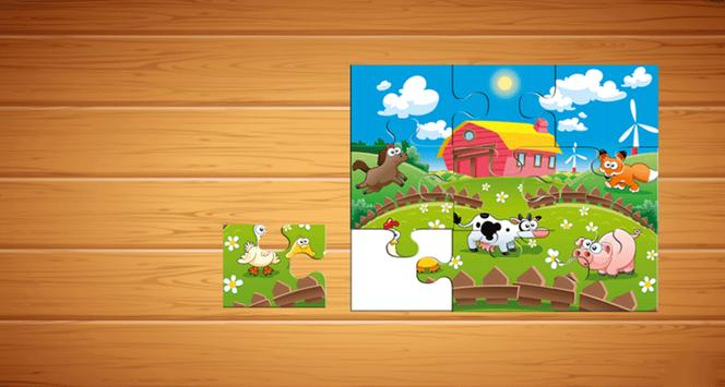 Farm Animals Puzzle For Kids screenshot 4
