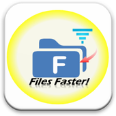 Faster download speed icon