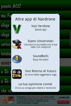 Voci Verdone apk screenshot
