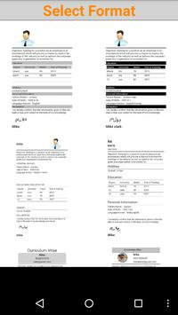 Resume Pocket poster