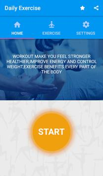 10 Daily Exercises (Gym Workouts & Fitness) poster