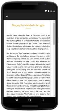 Natalie Imbruglia Songs Lyrics screenshot 4