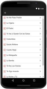 Aida Cuevas Songs Lyrics screenshot 2