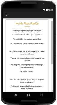Aida Cuevas Songs Lyrics screenshot 3