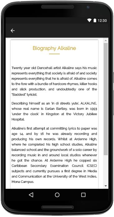Alkaline - Songs Lyrics for Android - APK Download