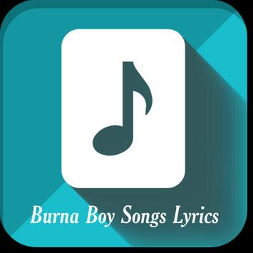 Burna Boy Songs Lyrics poster