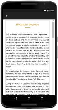 Beyonce Songs Lyrics screenshot 4