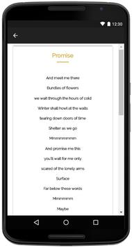 Ben Howard Songs Lyrics apk screenshot
