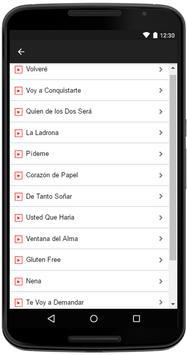 Diego Verdaguer Songs Lyrics apk screenshot