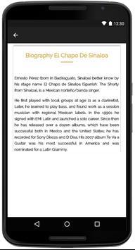 El Chapo De Sinaloa Songs screenshot 4