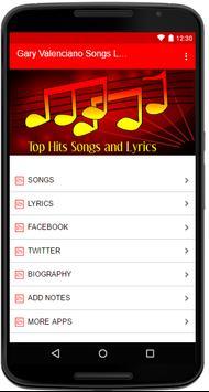 Gary Valenciano Songs Lyrics screenshot 1