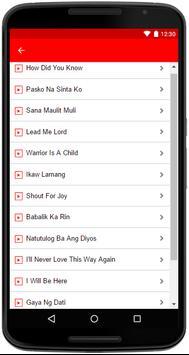 Gary Valenciano Songs Lyrics screenshot 2