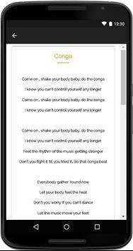Gloria Estefan Songs Lyrics screenshot 3