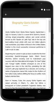 Gloria Estefan Songs Lyrics screenshot 4