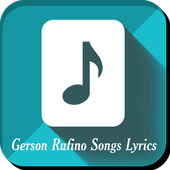Gerson Rufino Songs Lyrics icon