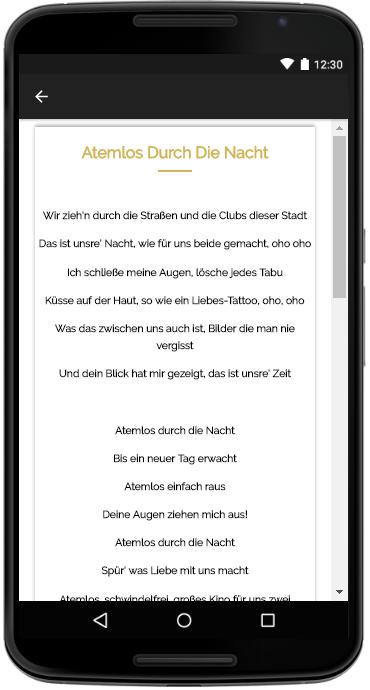Helene Fischer Songs Lyrics For Android Apk Download