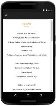 Imagine Dragons Songs Lyrics screenshot 3