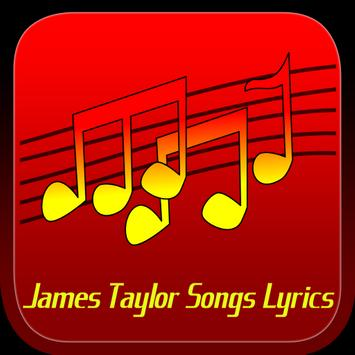 James Taylor Songs Lyrics poster